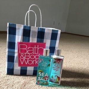 Bath and Body Works Lotion/Bath Gel